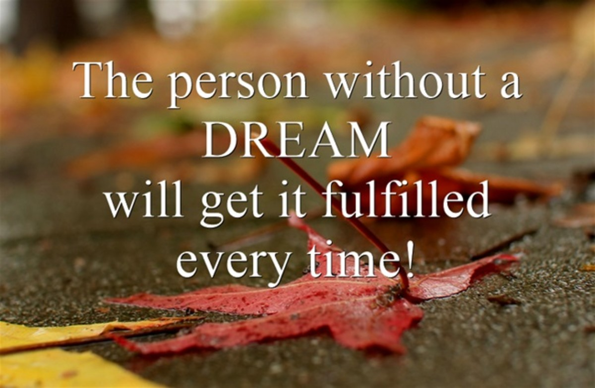 Hindrances to Fulfilling Your Dream