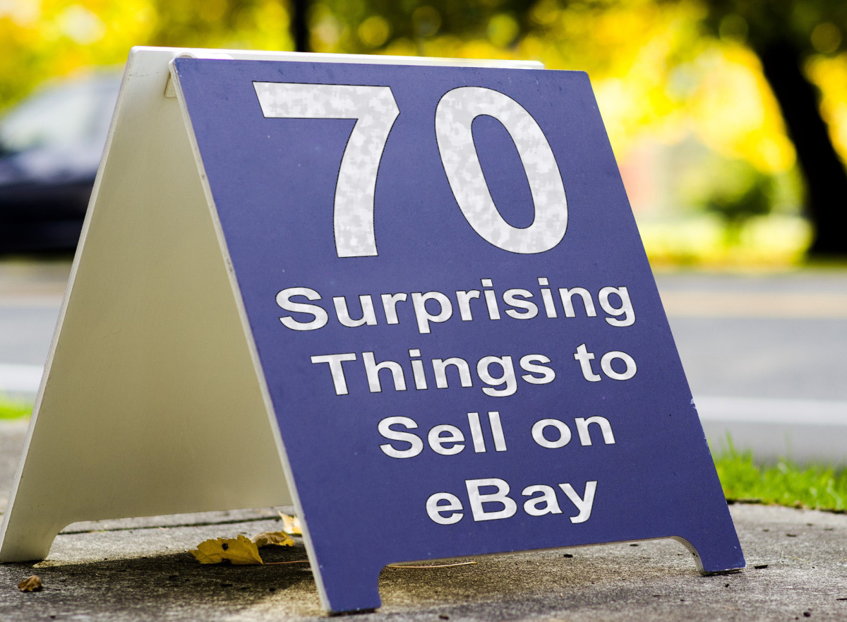 You'd be surprised by what will sell on eBay!