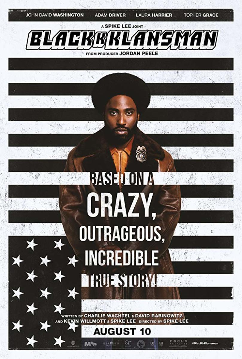 Infiltrating the Organization: BlacKkKlansman Review
