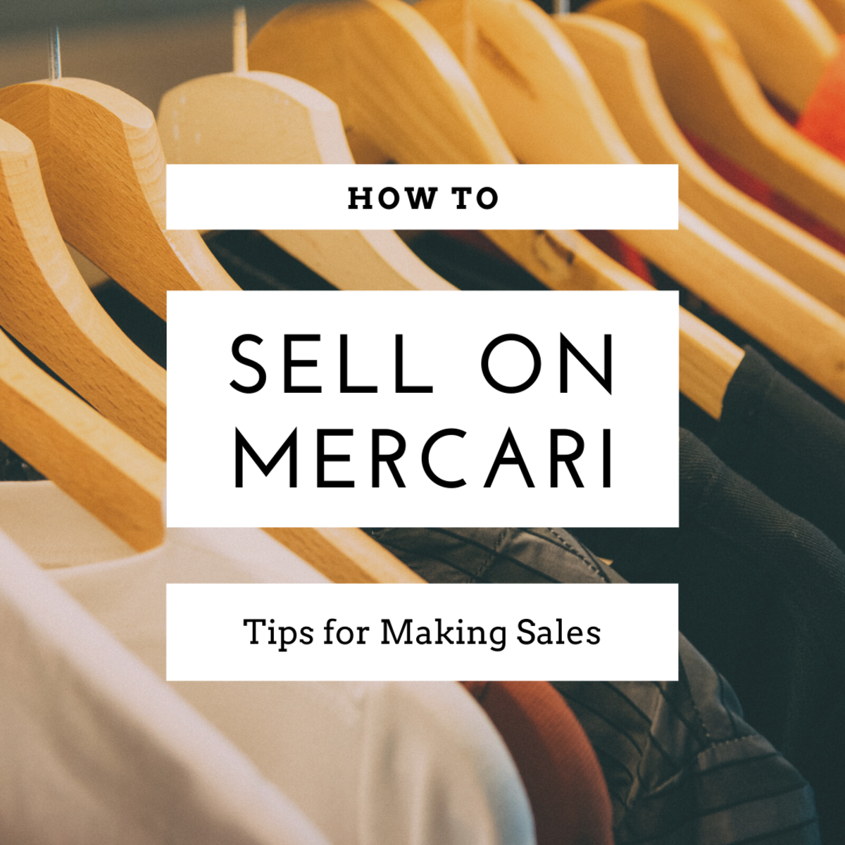Learn how to sell clothes and other household items on Mercari.