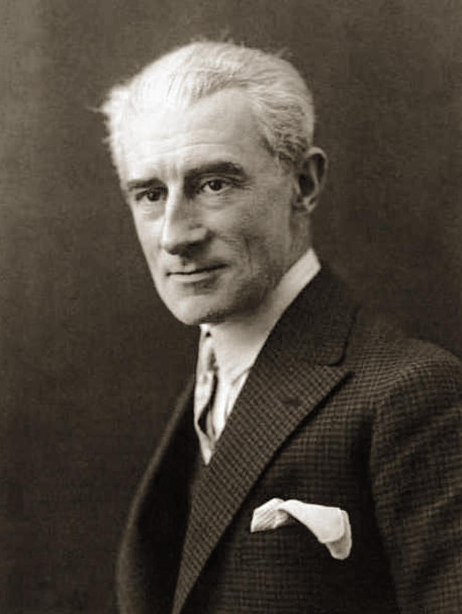 Photograph of Ravel 1925.