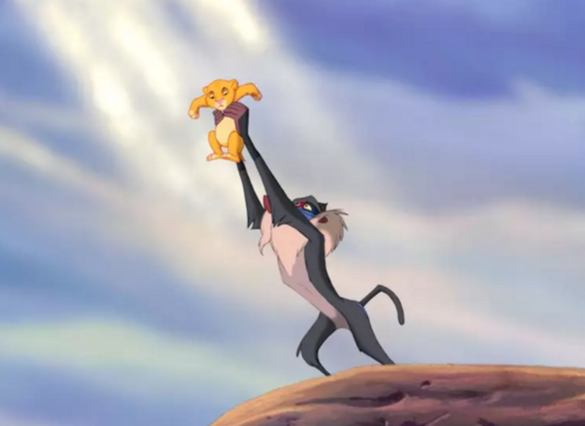 "The Way ""Lion King"" Came Up With Its Story"
