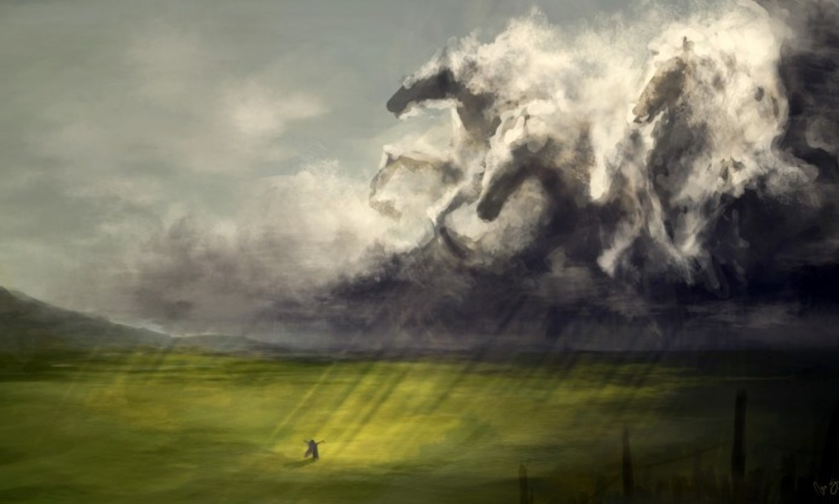 Of the Thunder of Hooves, a Poem