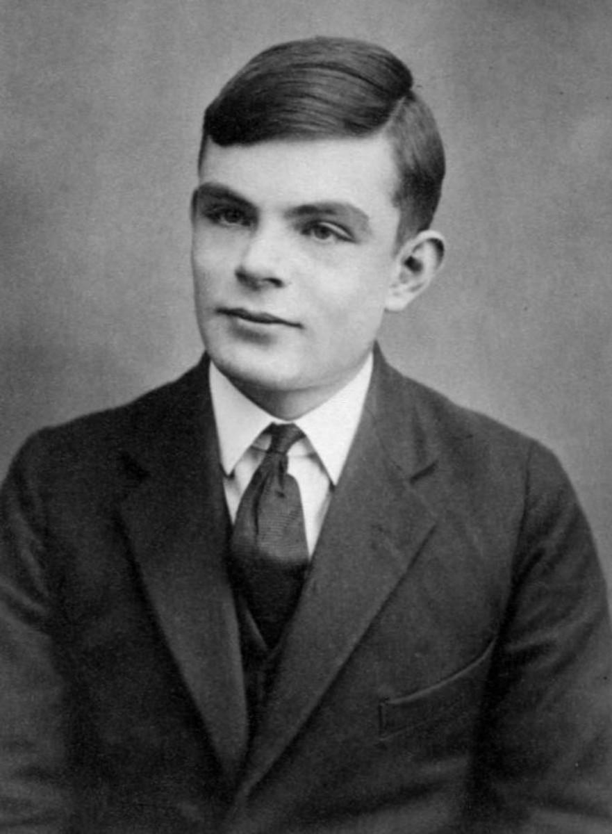 Alan Turing at age 16.