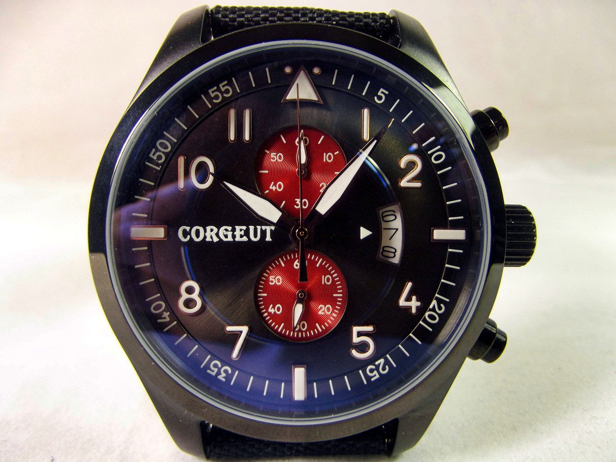 Review of the Corgeut C02006pyr Chronograph