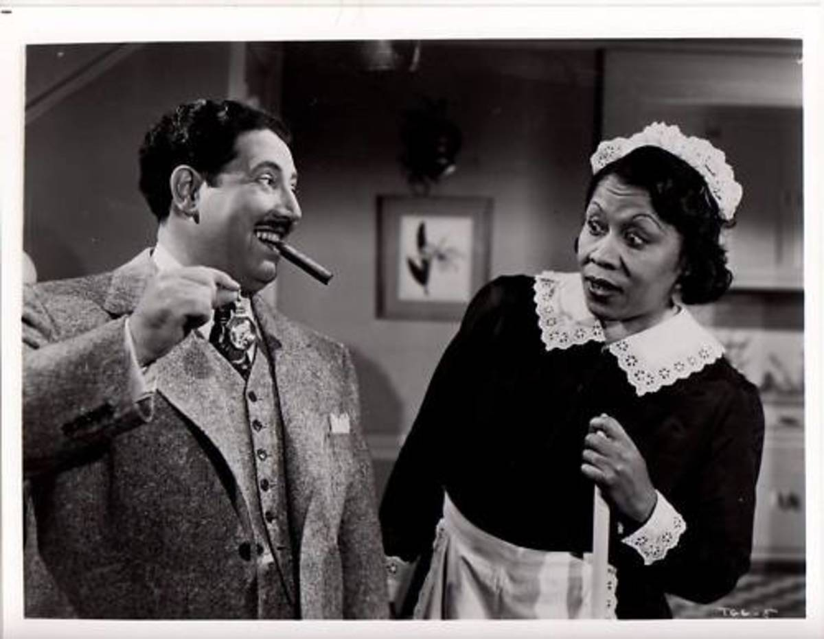 Black Actors, Harold Peary and Lillian Randolph