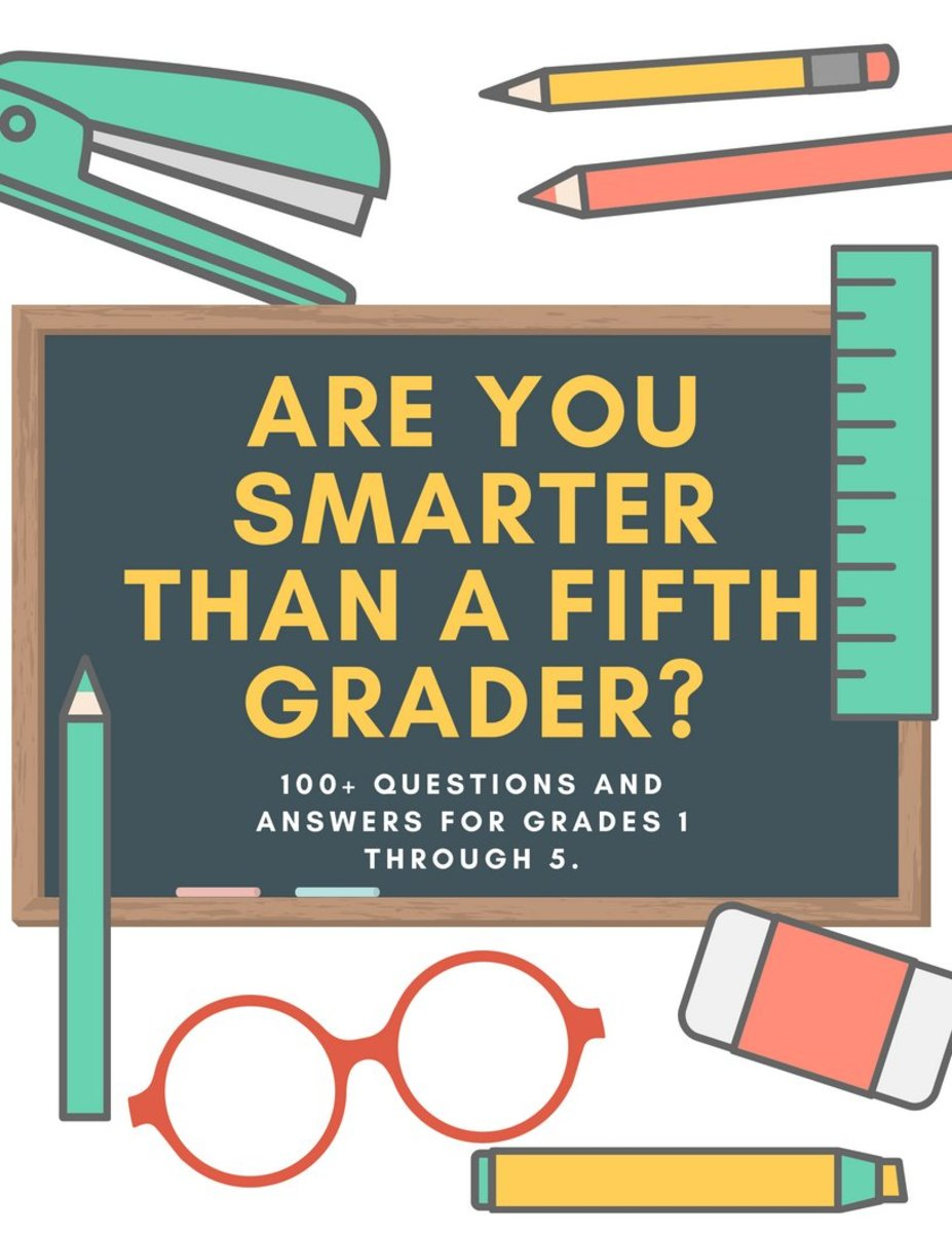 graphic about 5th Grade Trivia Questions and Answers Printable called Are Your self Smarter Than a 5th Grader Quiz: Queries and