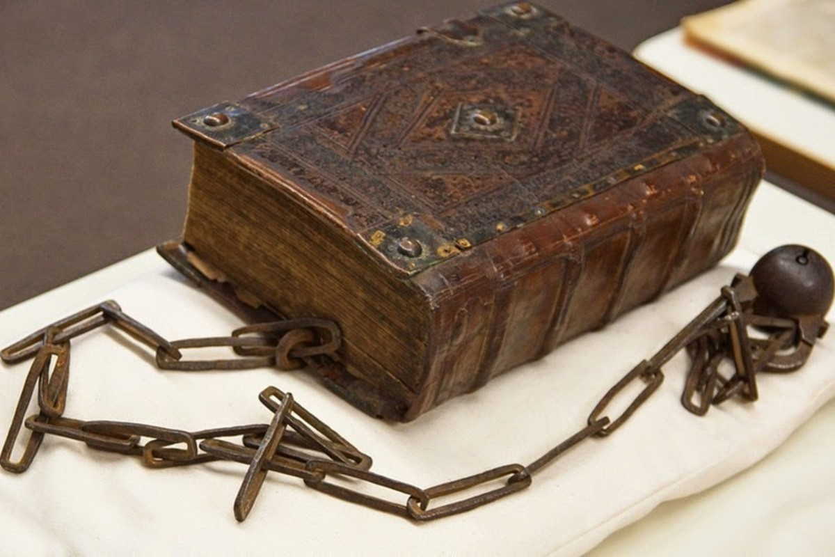 The World's Largest Surviving Chained Library