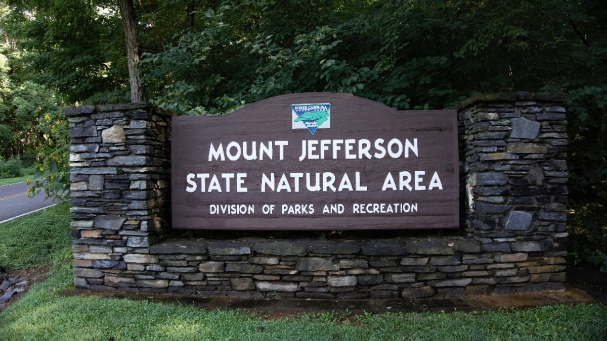 Mount Jefferson State Natural Area:  West Jefferson, NC