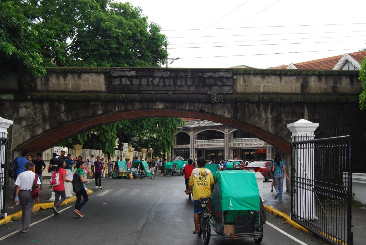 Victoria Street Entrance to Intramuros