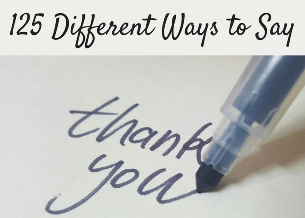 125 Other Ways to Say Thank You