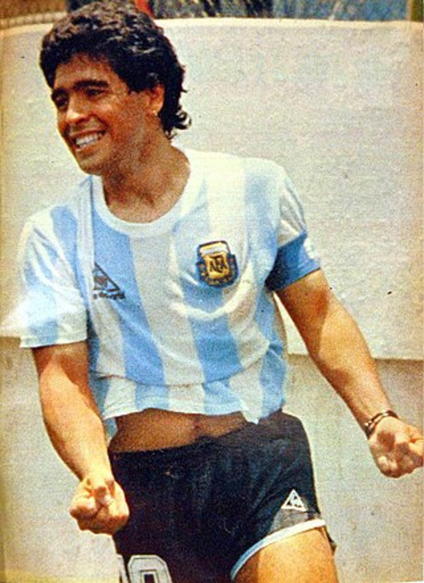 Diego Maradona led Argentina to a famous World Cup win in 1986, but he could have easily been playing in England's Second Division for Sheffield United.