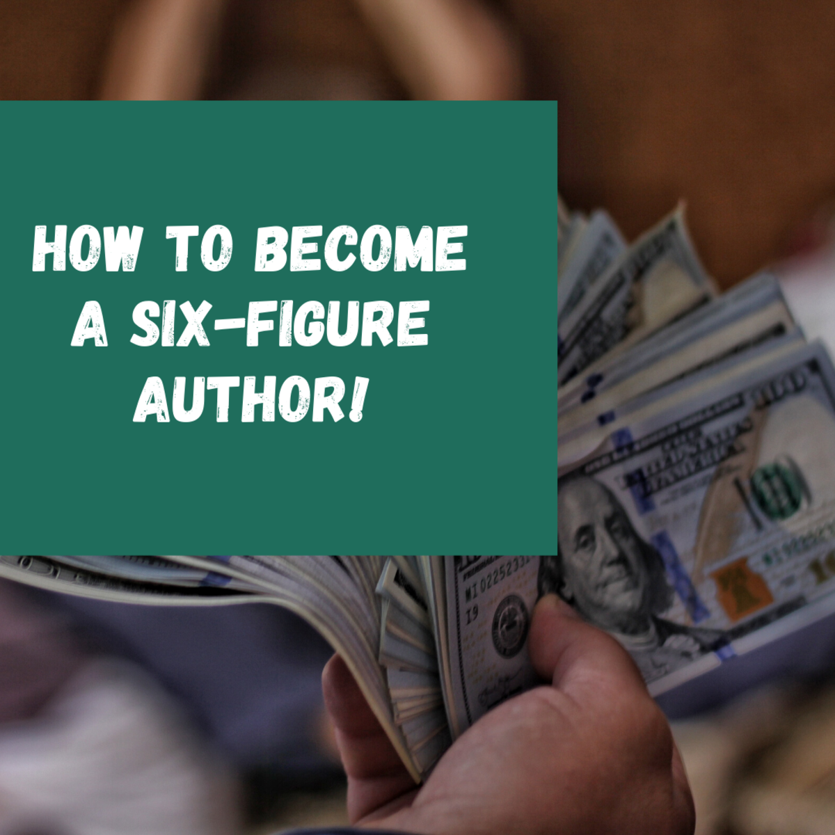 How to Become a Six-Figure Author in 5 Simple Steps