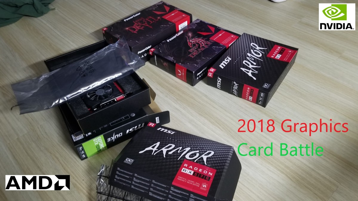 2018 Graphics Card Battle: nVidia vs AMD