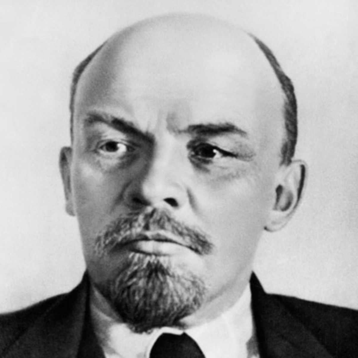 Official Soviet photo of Vladimir Lenin; first leader of the Soviet Union.