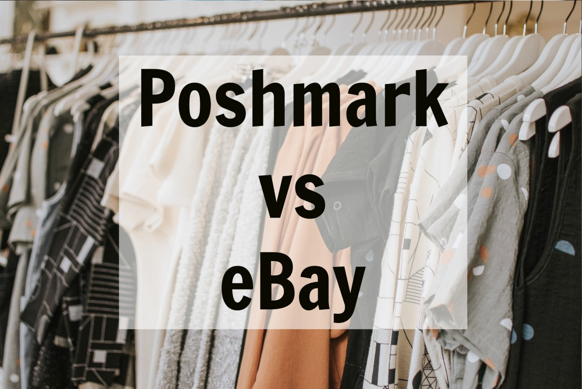 What is better for selling used clothes: Poshmark or Ebay?