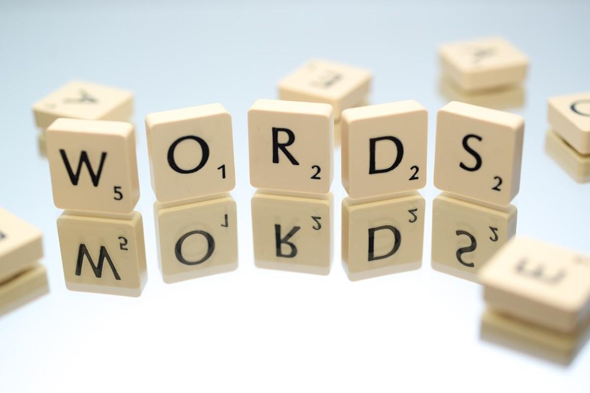Another Alphabet of Weird Words