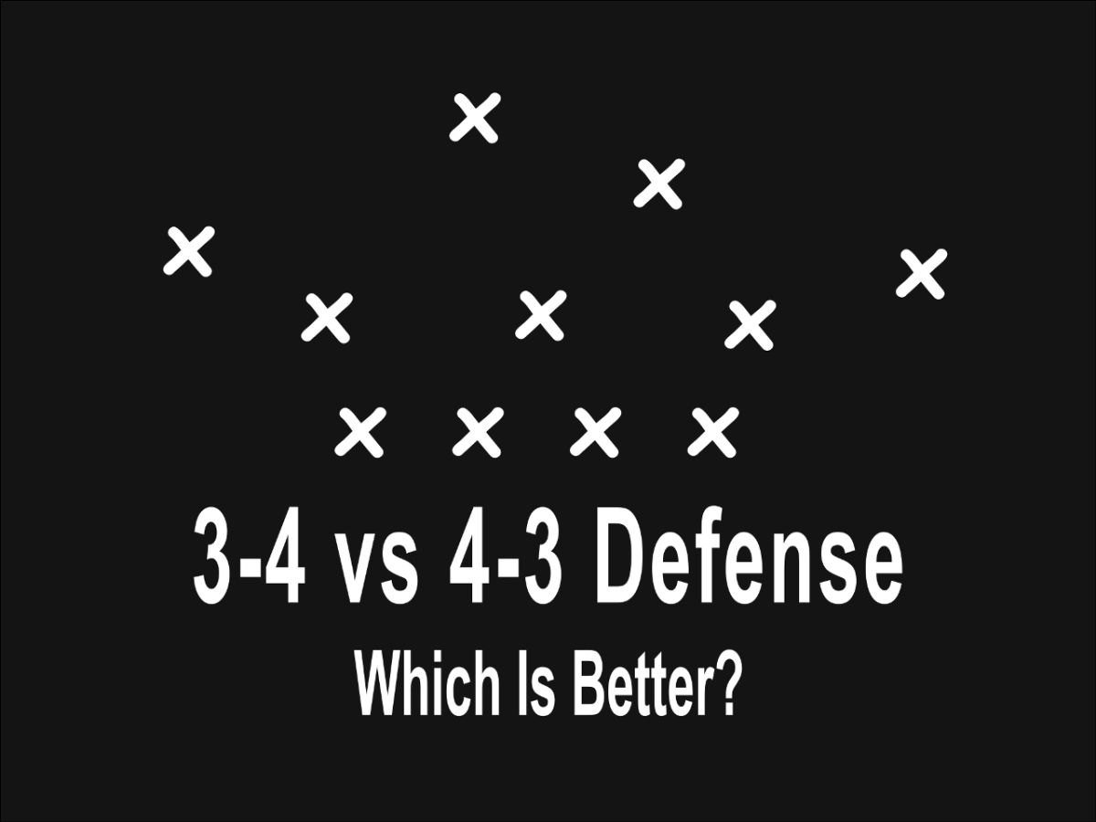 3 4 Vs 4 3 Defense In Football Which Is Better Howtheyplay