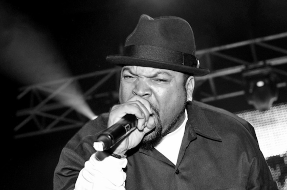 Ice Cube performing live in Metro City Concert Club on October 29, 2010.