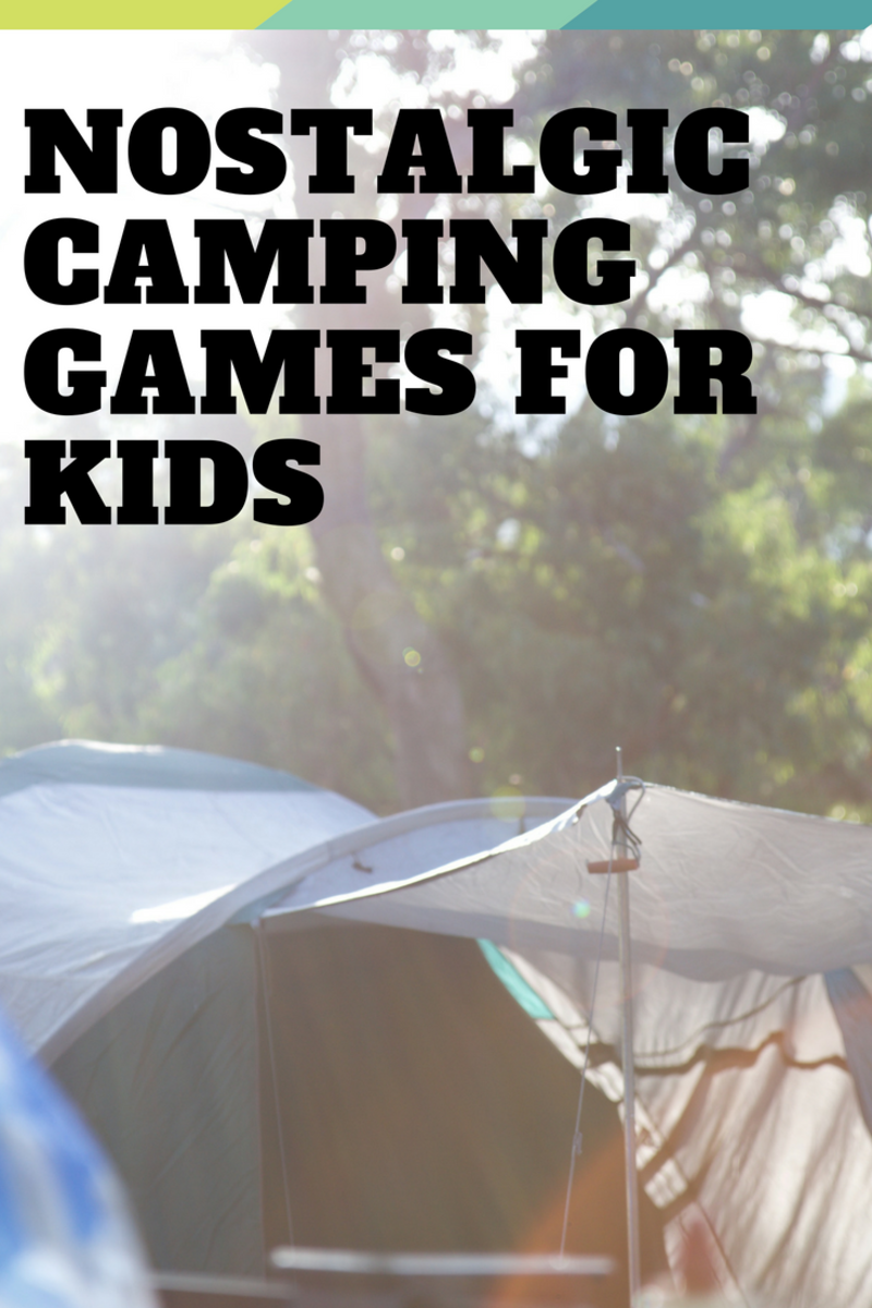 Outdoor Games to Play With Your Kids While Camping