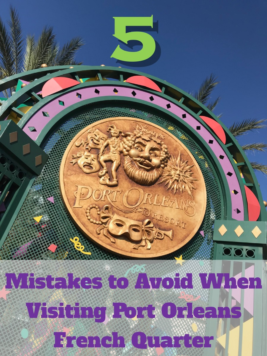 Don't make the same mistakes we did when we visited the lovely Port Orleans French Quarter resort at Walt Disney World.  Here are 5 that we made and tips on how to avoid them.