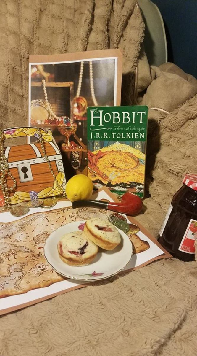 The Hobbit Book Discussion and Themed Lemon