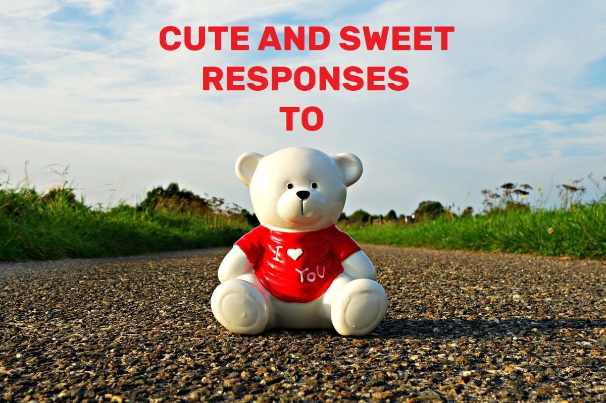 """100+ Cute and Sweet Responses to """"I Love You!"""""""