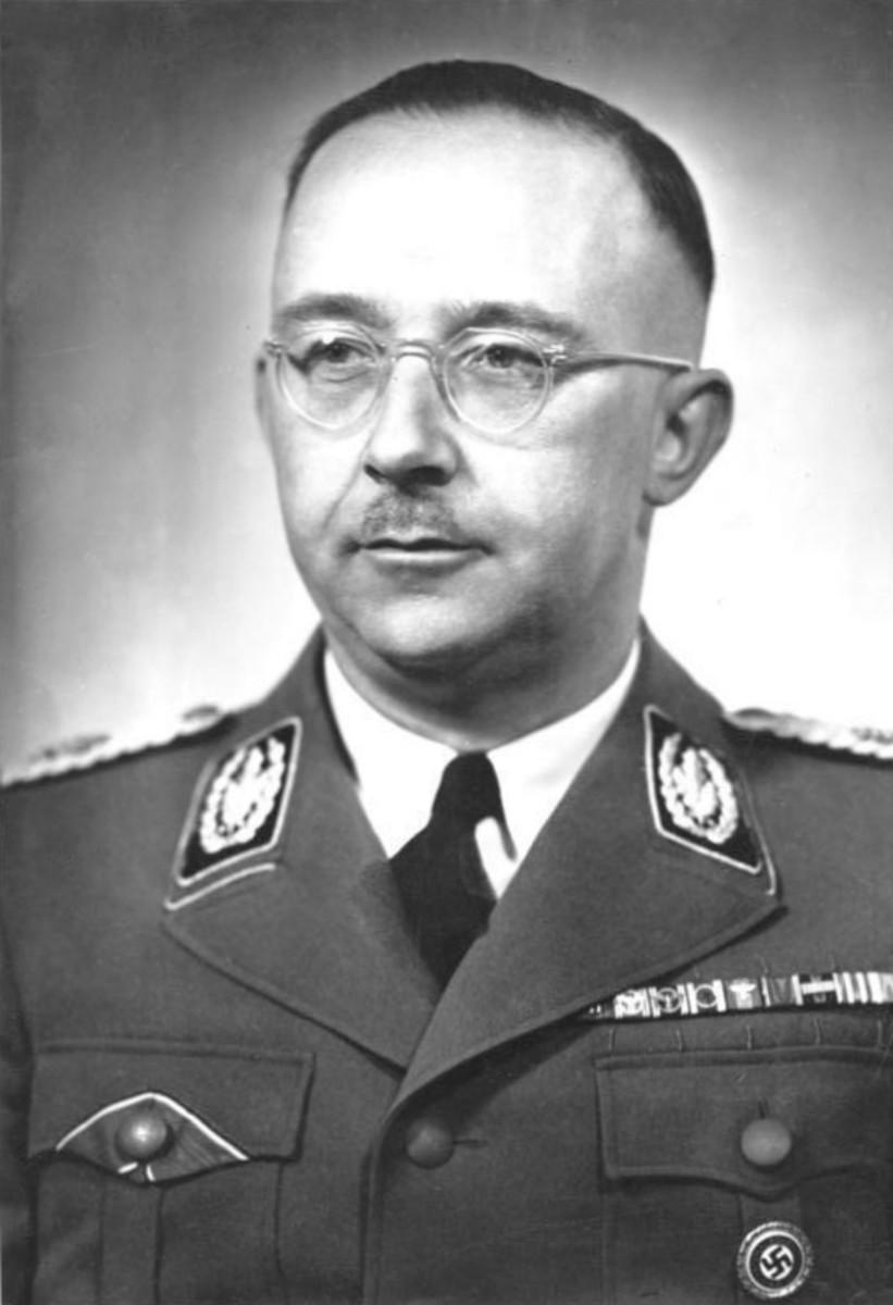 Portrait of Heinrich Himmler.
