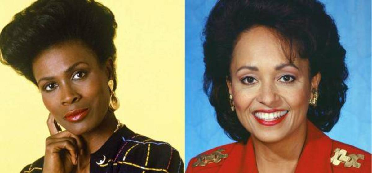 Janet Hubert-Whitten and her replacement Daphne Maxwell Reid.