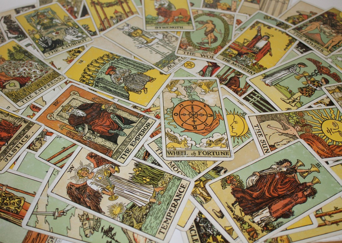 Quick Reference to the Rider-Waite Tarot Meanings