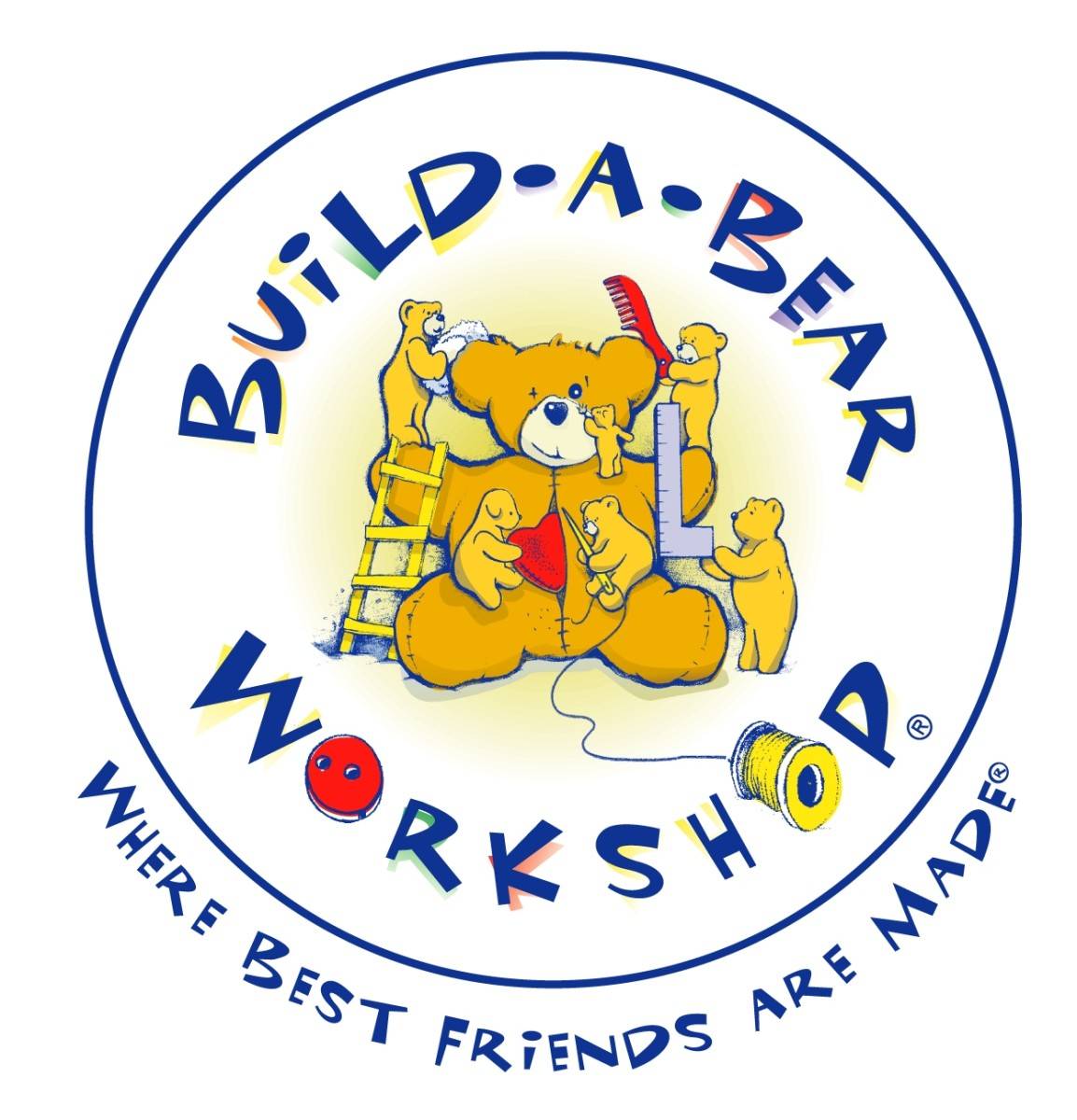 Build-A-Bear Workshop's first logo.