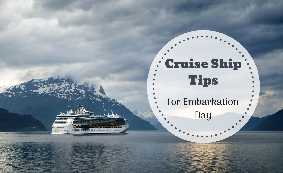 How to Take the Stress out of Embarkation Day on Your Cruise Holiday