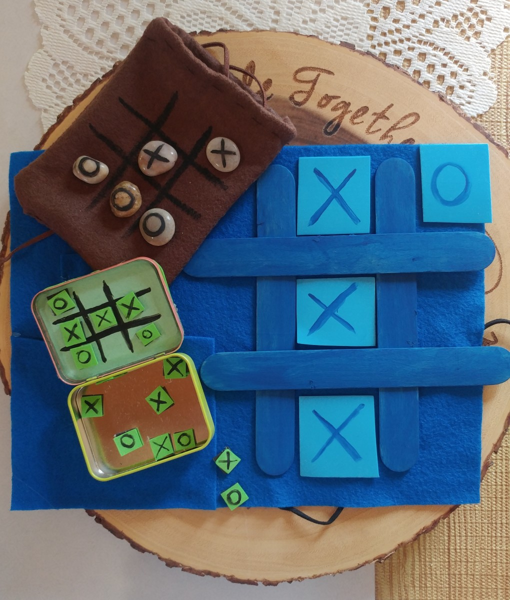 DIY Tic-Tac-Toe Crafts