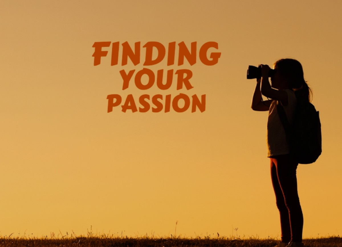 Finding Your Passion Now