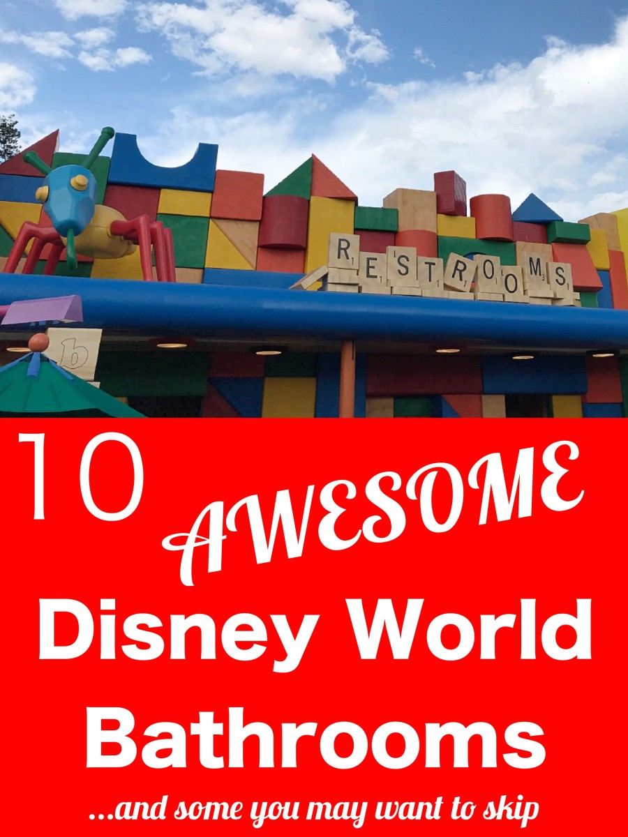10 Awesome Bathrooms in Disney World