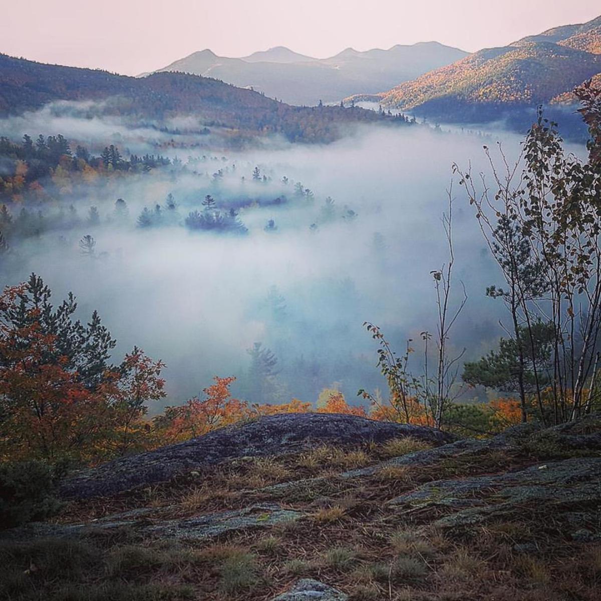 """""""Oh misty eye of the mountain below...."""""""