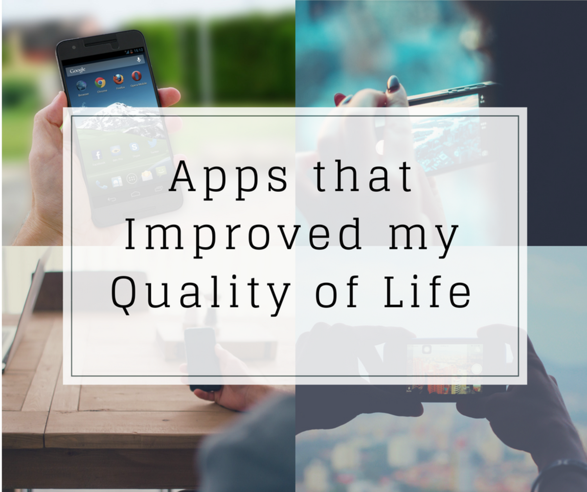 Apps that have improved my health and organisation, and have helped me reduce stress.