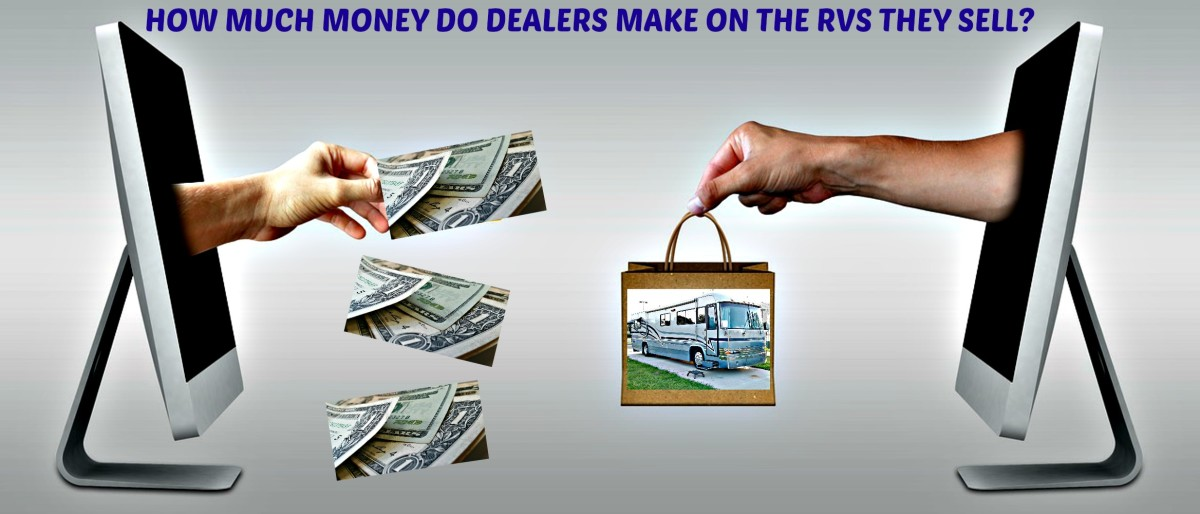 How much money do RV dealers really make when they sell a recreational vehicle?