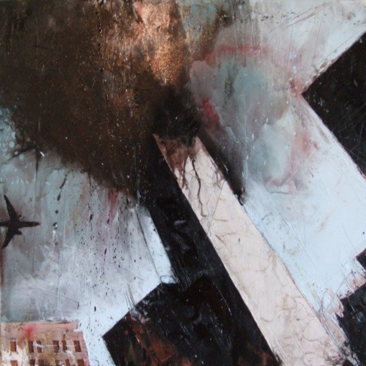 Vanity Fair by Guy Denning.  Exhibited at the 9/11 show Red Propeller, Kingsbridge.