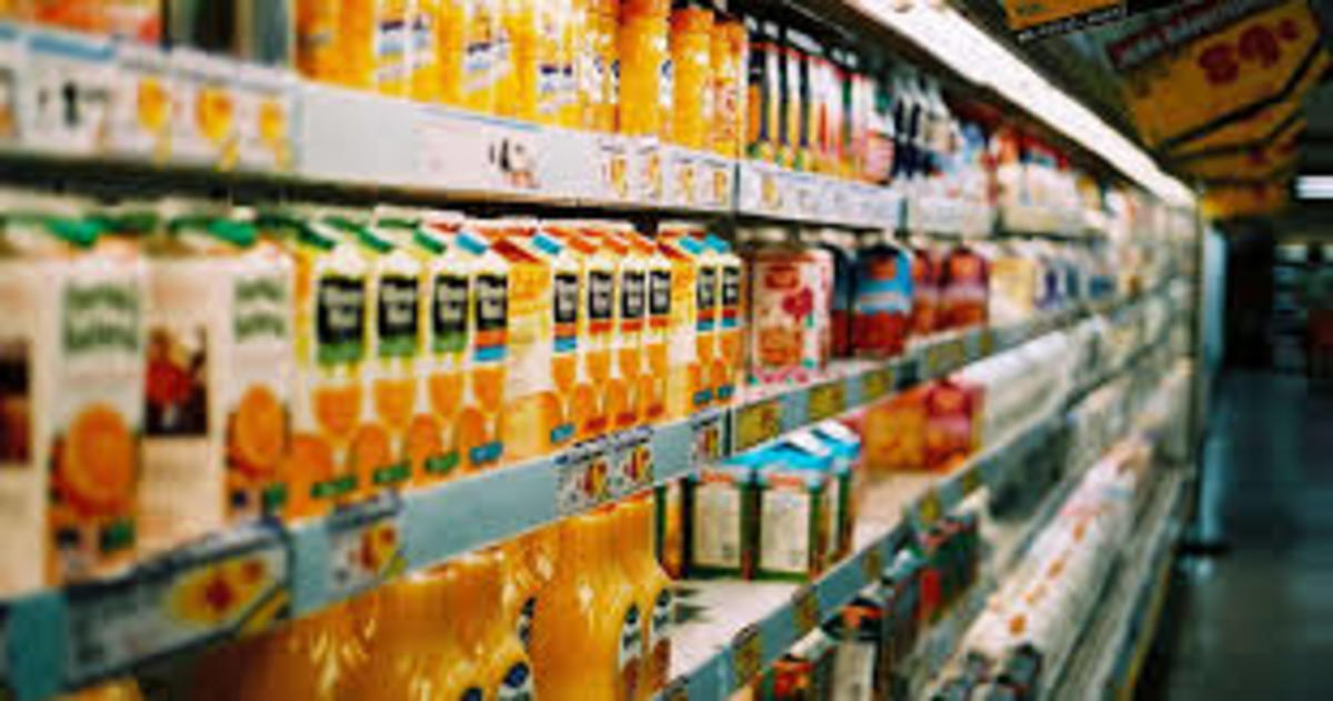 Groceries are a major expense for people around the world.