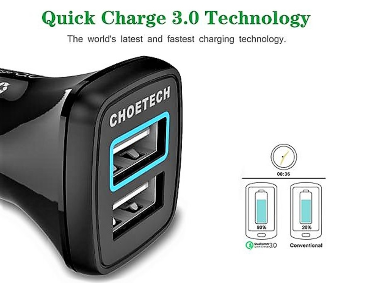 review-of-choetech-dual-usb-car-charger