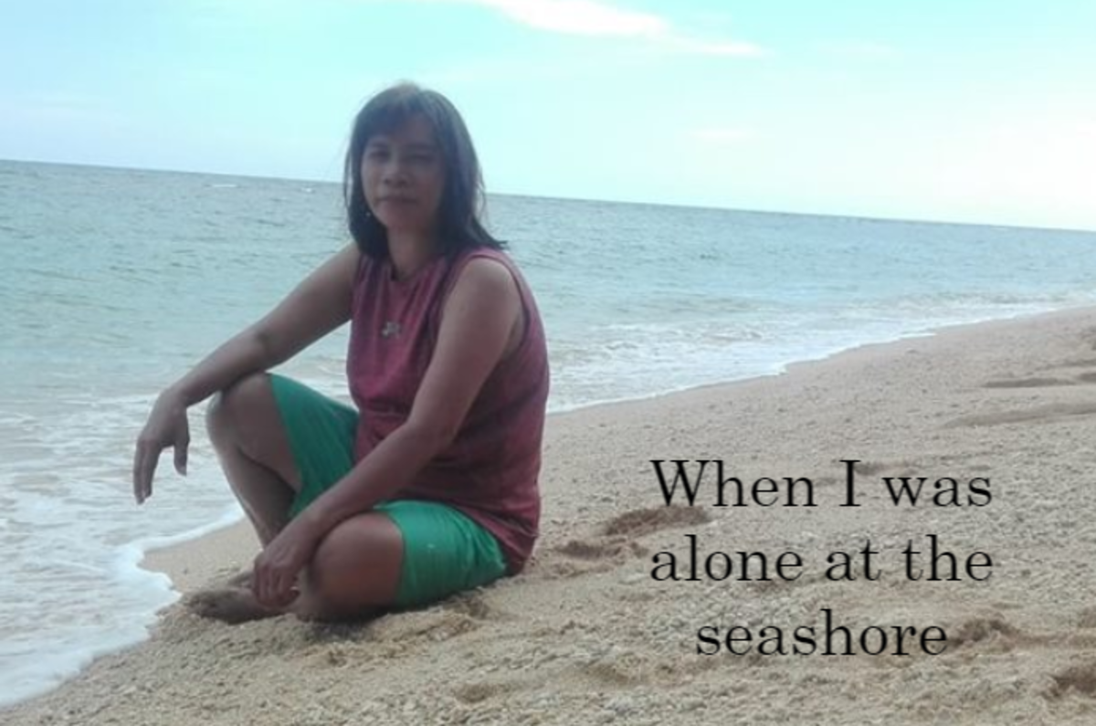 When I am Alone at the Seashore