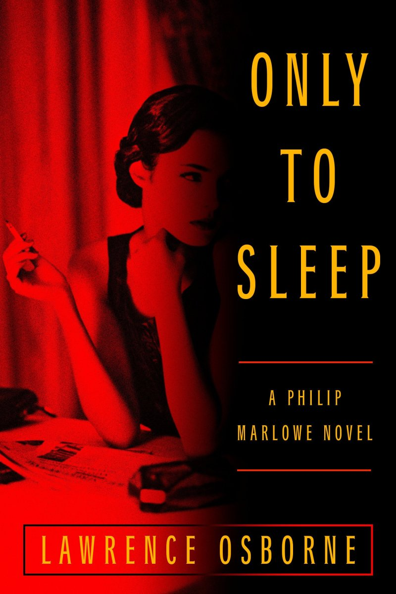 Cover of Only to Sleep, design by Michael Morris and photo by Nikola Borissov.