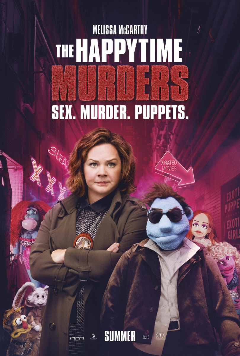 "Movie Review: ""The Happytime Murders"""