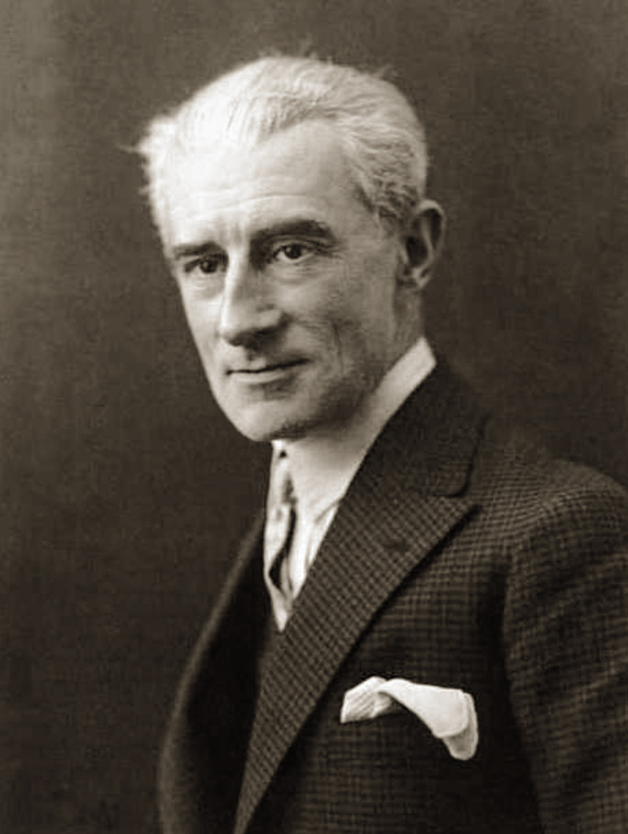 Photograph of Ravel in 1925.