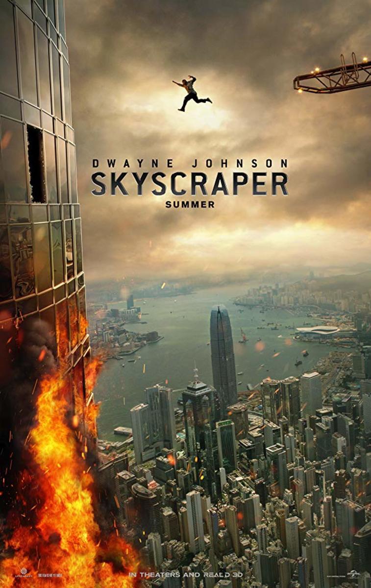 Skyscraper 2018 #Skyscraper2018 #dwaynejohnson #nevecampbell
