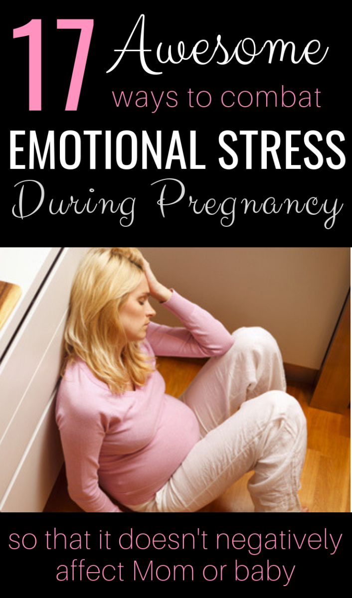 Constant Stress in Pregnancy Can have Negative Effects for Mom and Baby. Avoid that by Making Some Minor Changes to Your Lifestyle