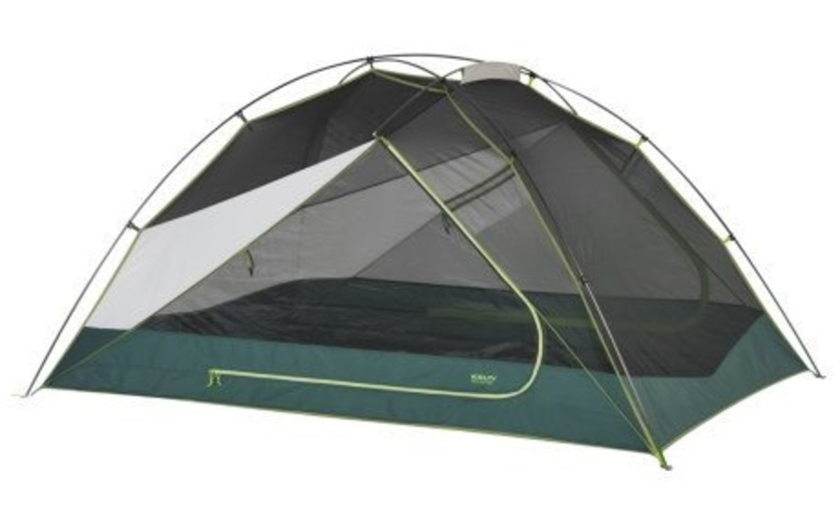 Kelty backpacking tent, commonly 25% off at Backcountry Edge.