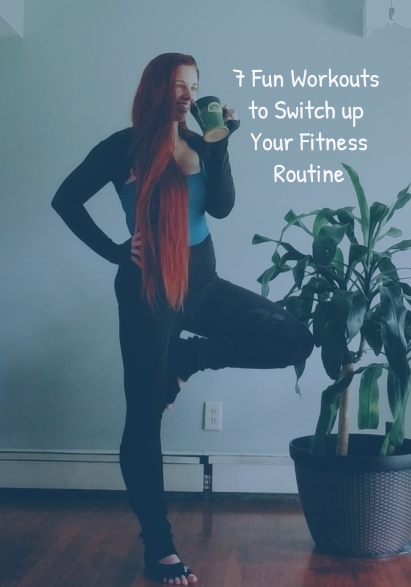 Switch up your fitness routine and have fun!