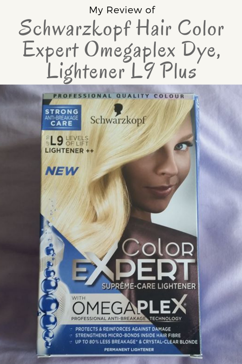 My Review of Schwarzkopf Hair Color Expert Omegaplex Dye: L9 Lightener Plus